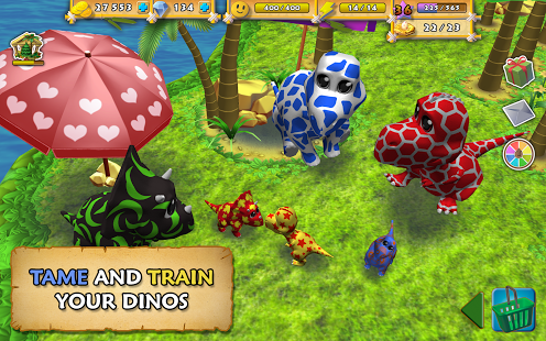 Happy Dinos v1.0.0 Apk MOD (Unlimited Everything)