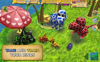Happy Dinos v1.0.0 Apk MOD (Unlimited Everything)