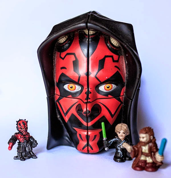 2x2x2 Rubik Darth Maul