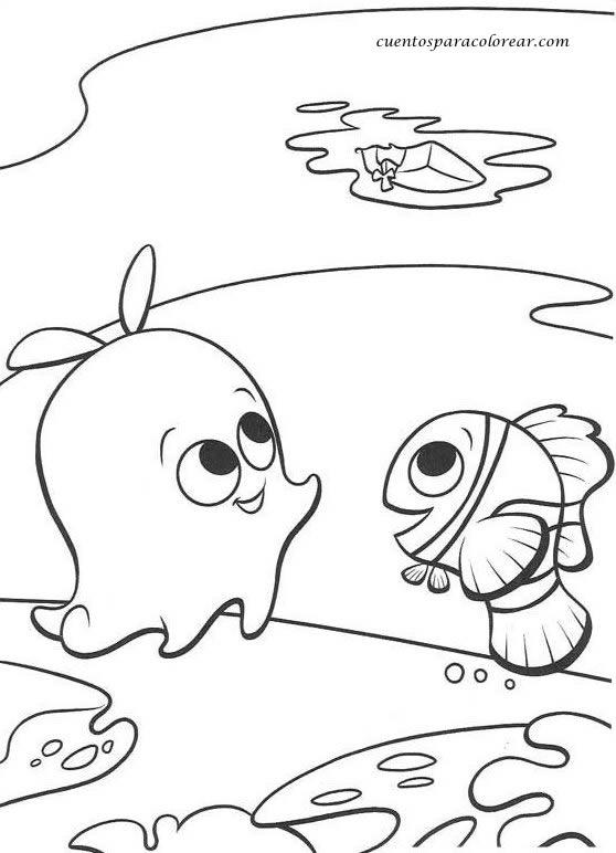 Dibujos para todo: Dibujos de Nemo