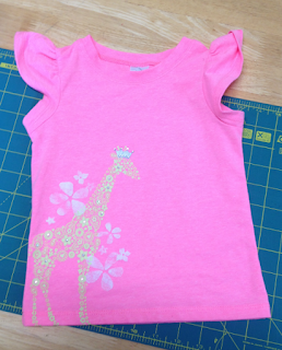 Baby shirt ready for upcycling