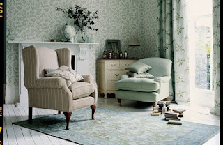 Pretty at home february 2011 for Laura ashley living room ideas