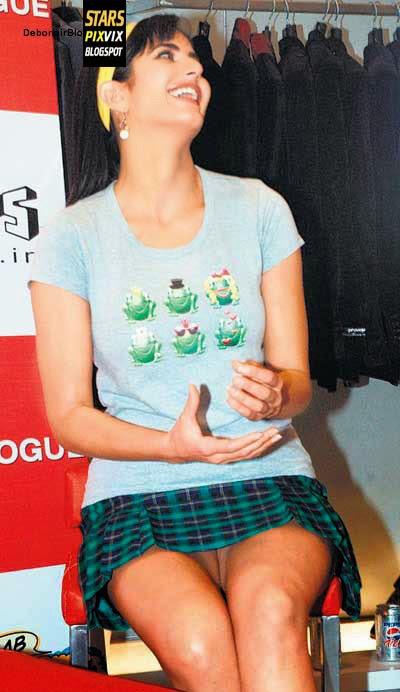 Katrina Kaif Wardrobe Malfunction in midi