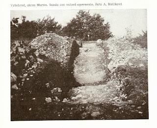 archeologické nálezisko Vyšehrad