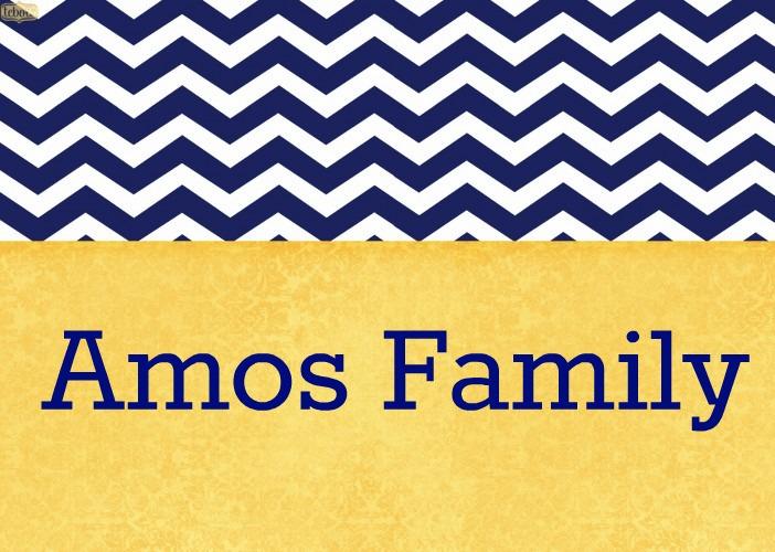 Amos Family News