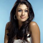 Nayanthara in White Dress  Cute Photos