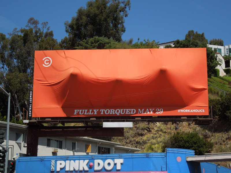 Workaholics season 3 Fully Torqued billboard