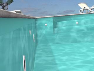 Robot vortex 4 quand et comment changer mon liner piscine for Prix changement liner piscine