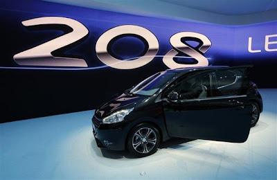 2012Peugeot 208 model-Geneva Auto Show