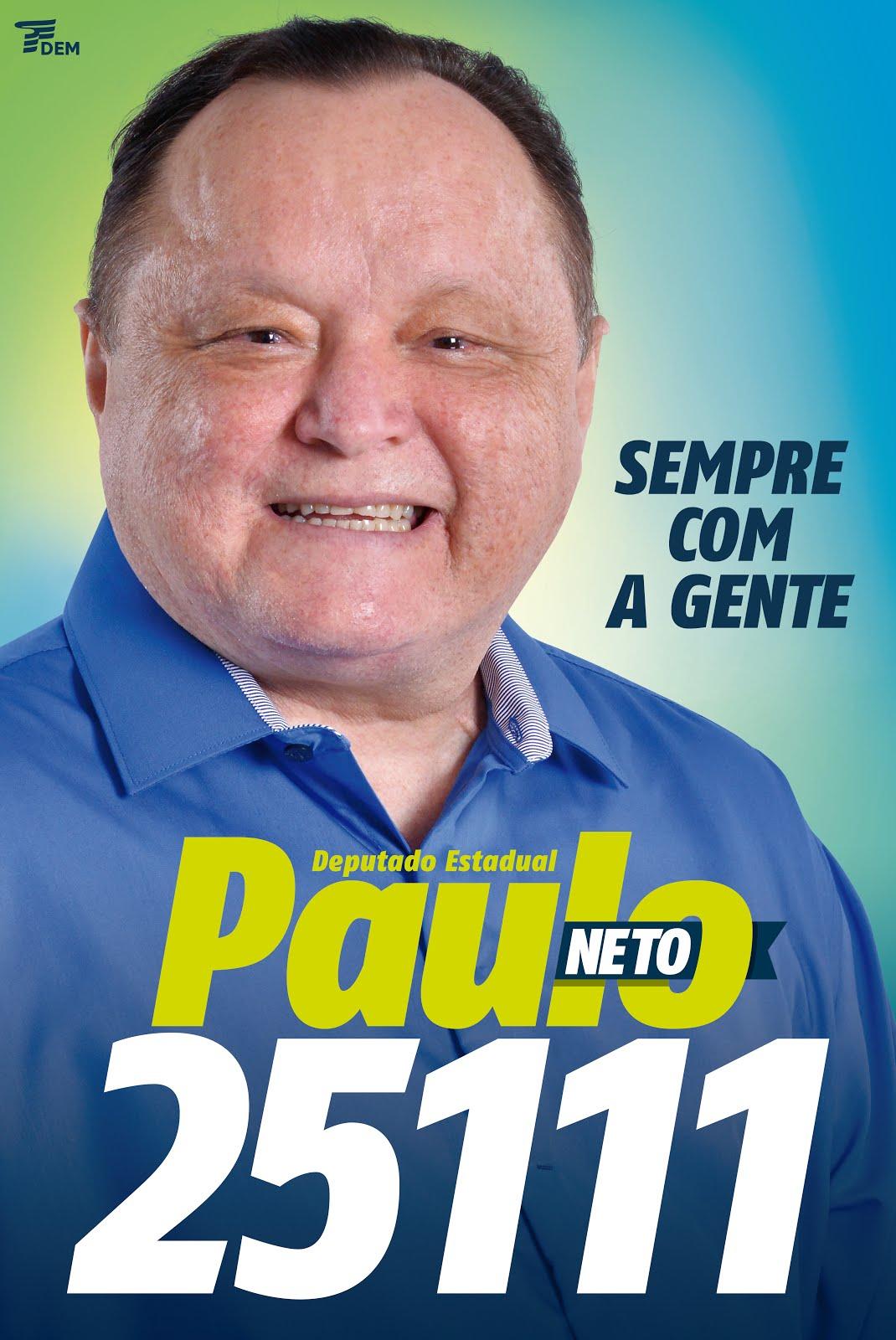 DEPUTADO ESTADUAL PAULO NETO