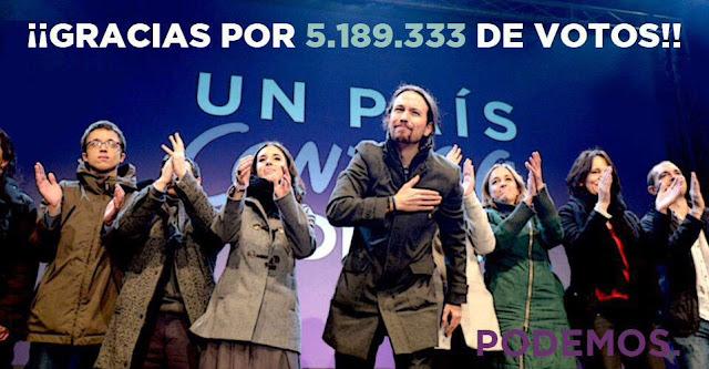 La noche en que Podemos hizo saltar por los aires el sistema político de la Transición