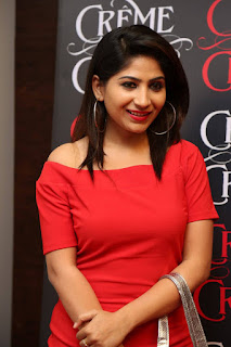 Madhulagna Das Pictures in Red Short Dress at Creme De La Creme 1st Anniversary    ~ Bollywood and South Indian Cinema Actress Exclusive Picture Galleries