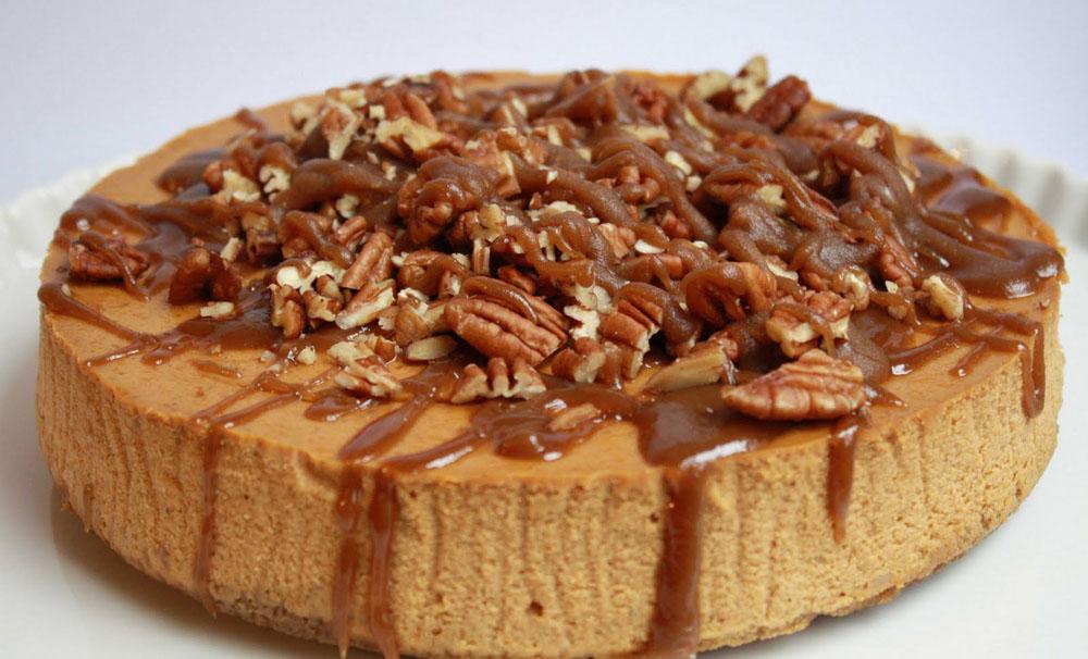 Mercado's Life Lessons: Pumpkin Cheesecake