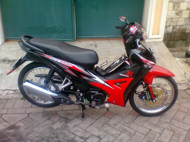 modifikasi motor revo fit paling bagus