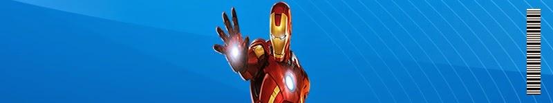 Etiquetas para imprimir gratis de Iron Man.