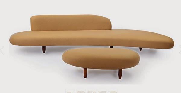 Kursi Minimalis Bergaya Art Deco