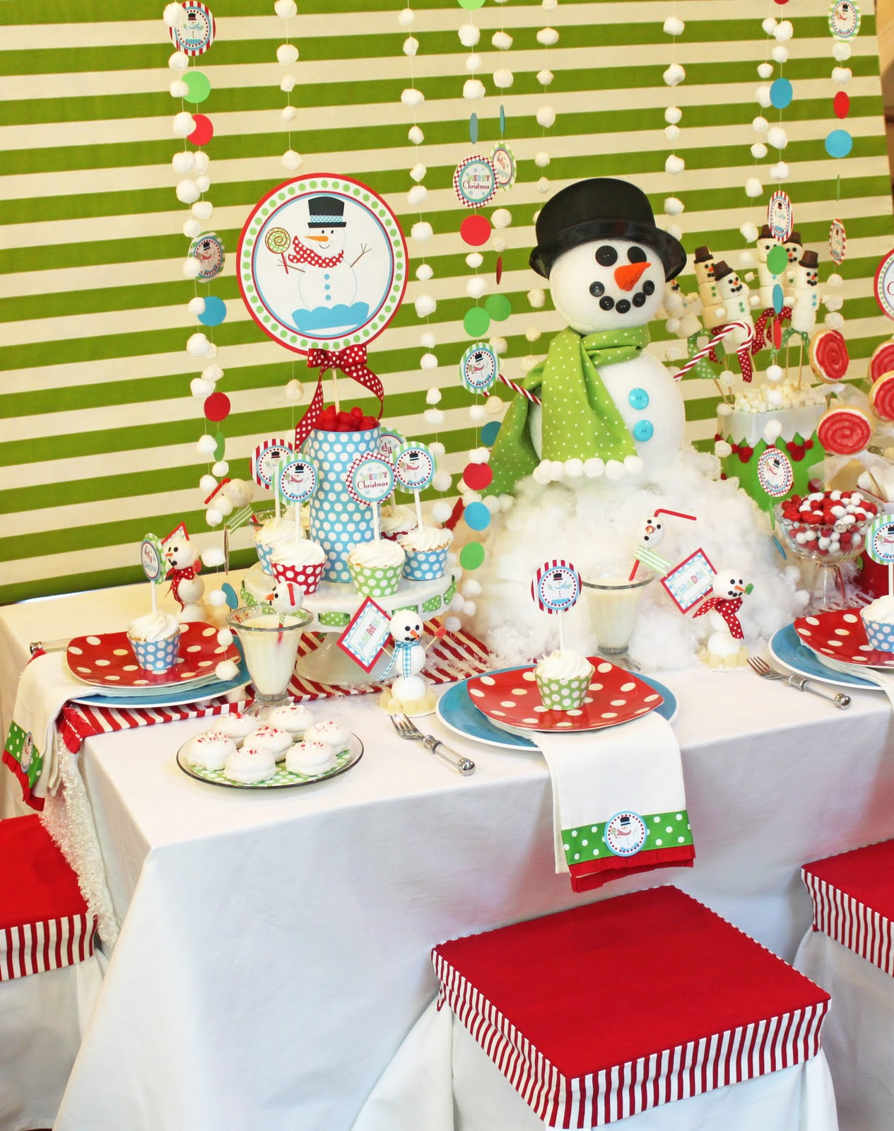 Phoenix Party Ideas: SNOWMAN PARTY