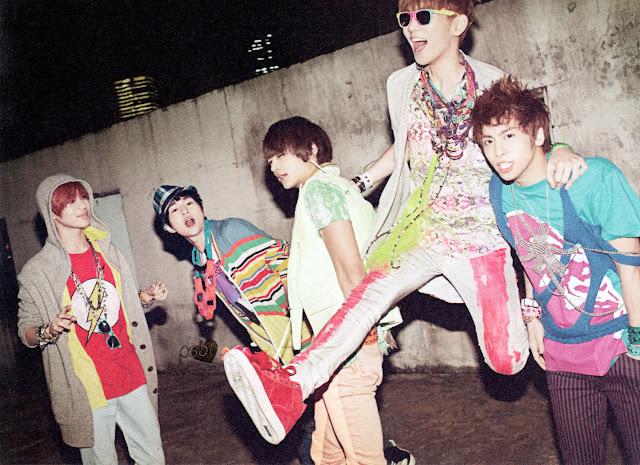 Shinee Japan promo pic 2011
