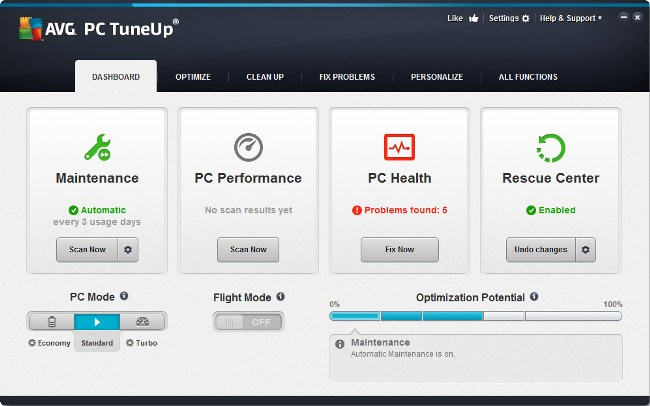 AVG PC TuneUp 2014 14.0.1001.154 Multilingual + Crack, Keygen, Patch ...
