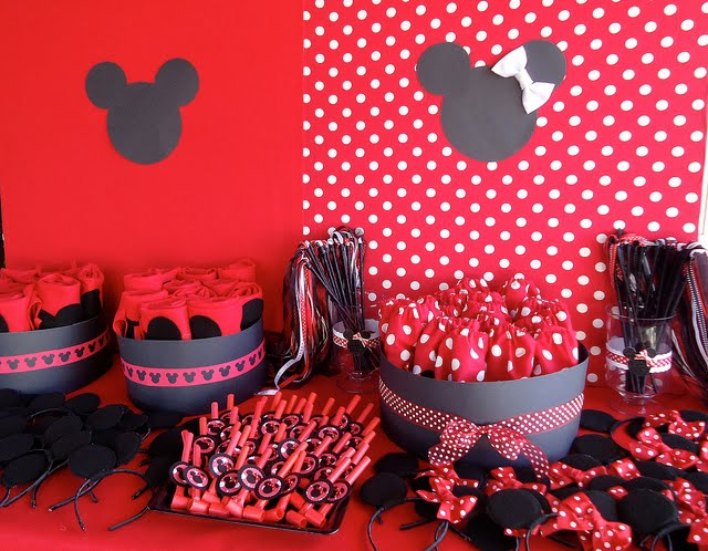 Mickey Minnie Mouse Birthday Party Ideas
