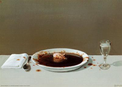 Michael Sowa pig soup
