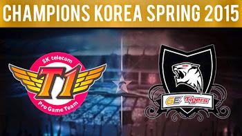 Chung Kết LCK Mùa Xuân 2015 SK Telecom T1 Vs GE Tigers: Khẳng Định Đẳng Cấp!