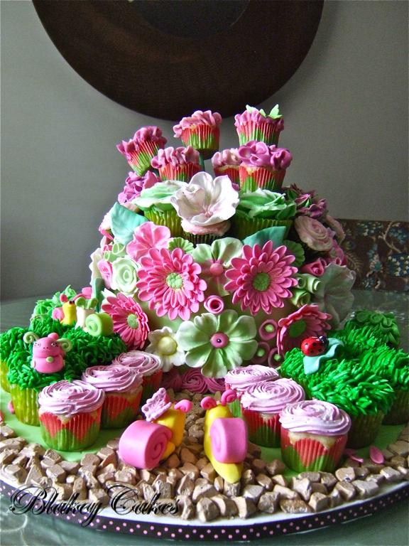 BlakeyCakes Cakes & Cupcakes: Enchanted Garden Party Cake