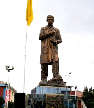 Monumento de Daniel Alcides Carrión