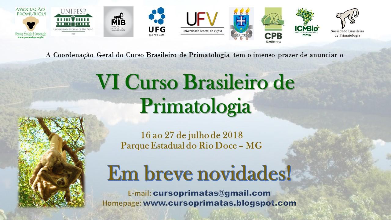 Bem-vindos ao Blog do VI Curso Brasileiro de Primatologia de Campo - Amazonia