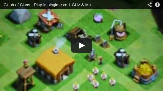Clash of Clans - best Android game & friendly hardware requirement