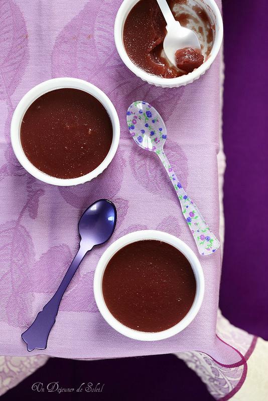 Sugol, ancien dessert italien, crème au jus de raisin