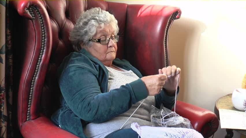 Old Lady Knitting Images : Prairiemary an old actress considers fiction