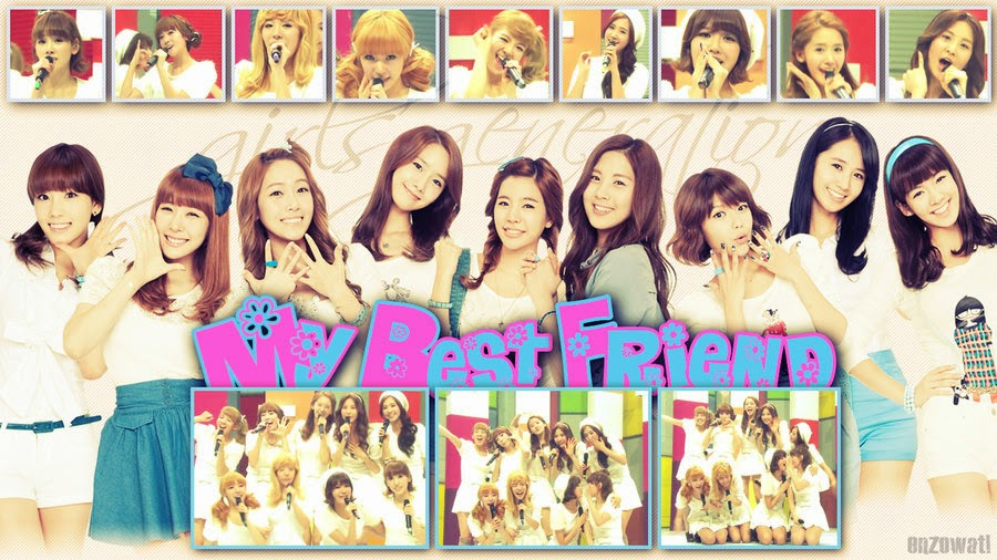 Lirik Lagu SNSD - My Best Friend