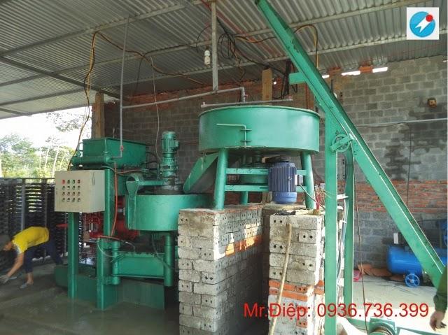 Dây chuyền sản xuất ngói xi măng màu