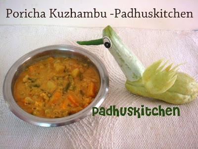 Poricha Kuzhambu-poricha kulambu recipe