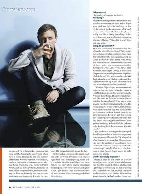 Daniel Craig 'Esquire' Magazine Cover Photos