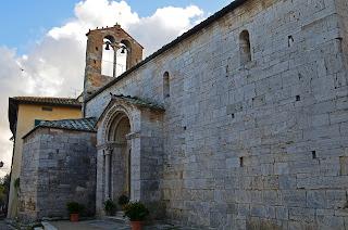 Chiesa di Santa Maria Assunta in San Quirico d'Orcia, Italy