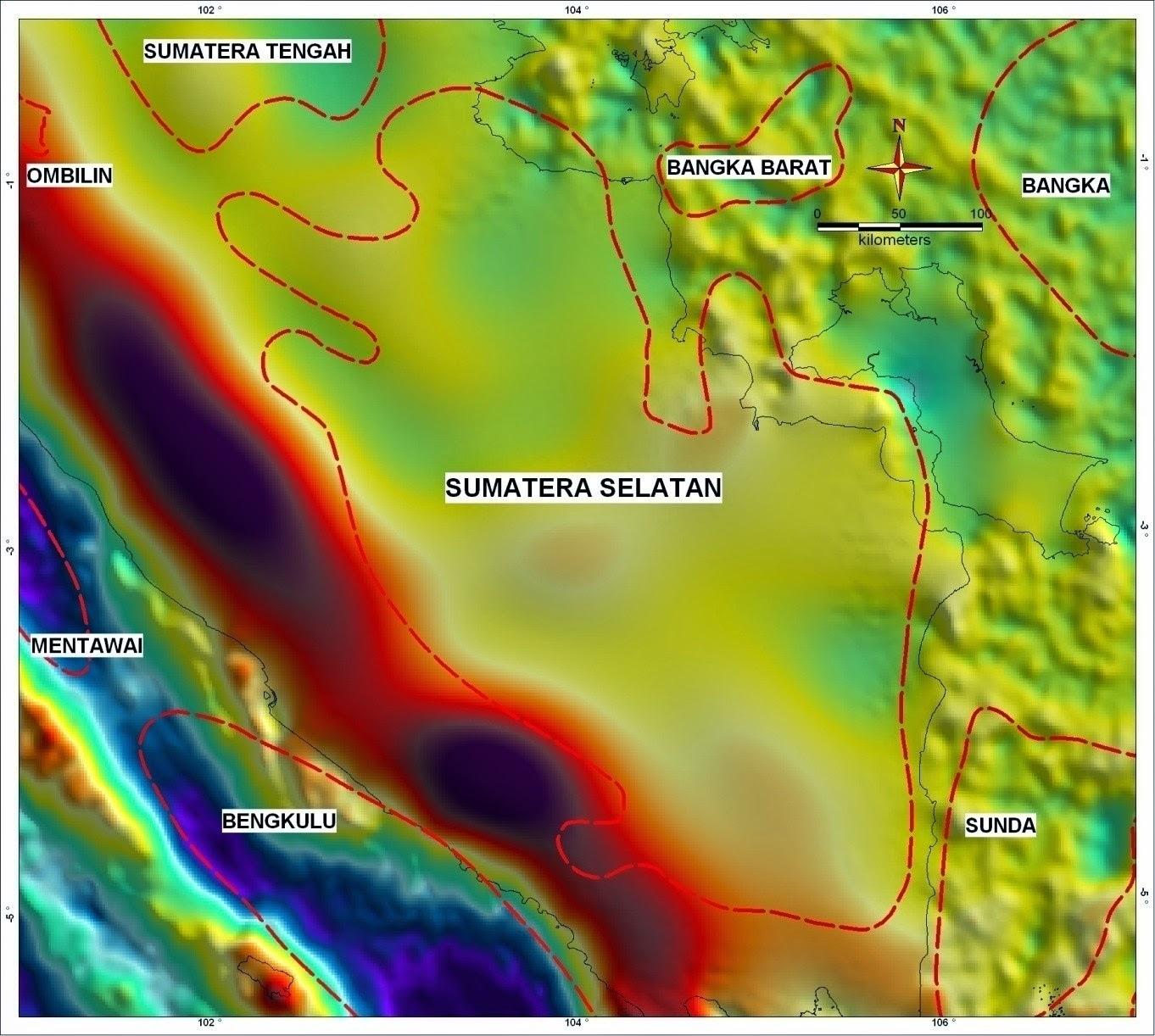 suara geologi geologi cekungan sumatera selatan