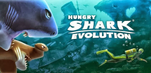 Hungry Shark Evolution v2.2.6 Apk + Data Mod [Unlimited Money e Diamantes]