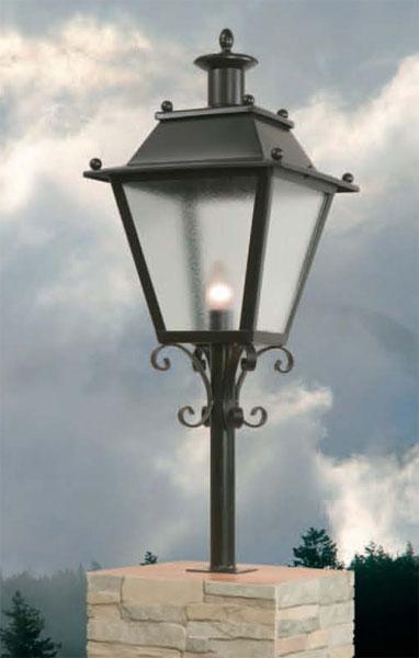 Muebles de forja faroles y aplique de iluminaci n para for Faroles de iluminacion exterior