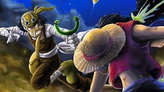 Luffy Vs Ussop mangacomzone