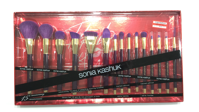 Sale Score - The Sonia Kashuk 15 Year Anniversary Brush Set