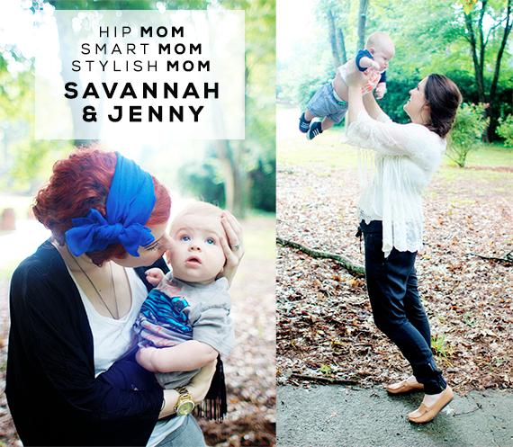 Hip Mom, Smart Mom, Stylish Mom: Savannah and Jenny of Maiedae