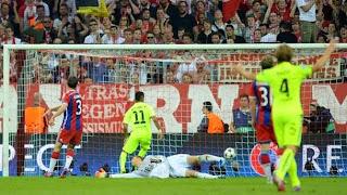 Video Cuplikan Gol Bayern Munich vs Barcelona 2-3