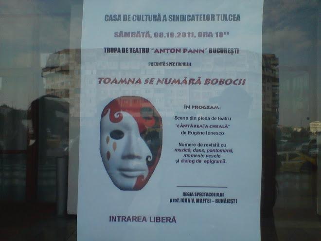 "AFIS ""TOAMNA SE NUMARA BOBOCII""-TULCEA"