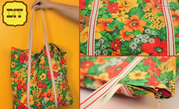 Bolsa De Tecido Passo A Passo Como Fazer : A modista bolsas artesanais como fazer uma bolsa de