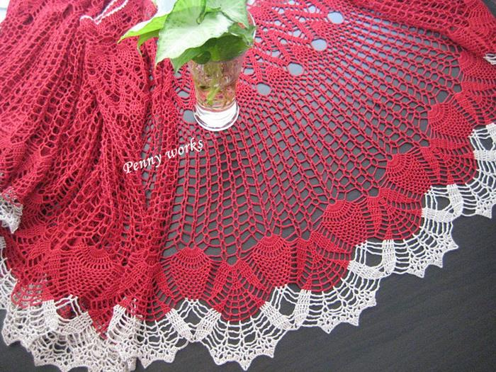 Easy Lace Crochet Shawl Pattern : Crochet Shawls: Crochet Lace Shawl Cape - Gorgeous Crochet ...