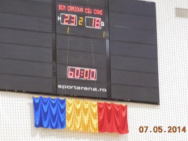 Play-out: Craiova 23 - Constanta 18