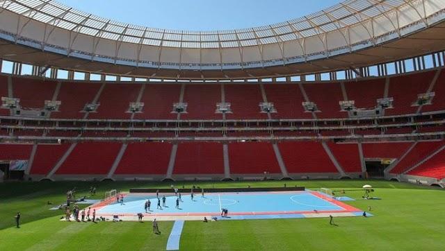 No retorno de Falcão, Arena Castelão recebe amistoso de futsal entre Brasil e Portugal