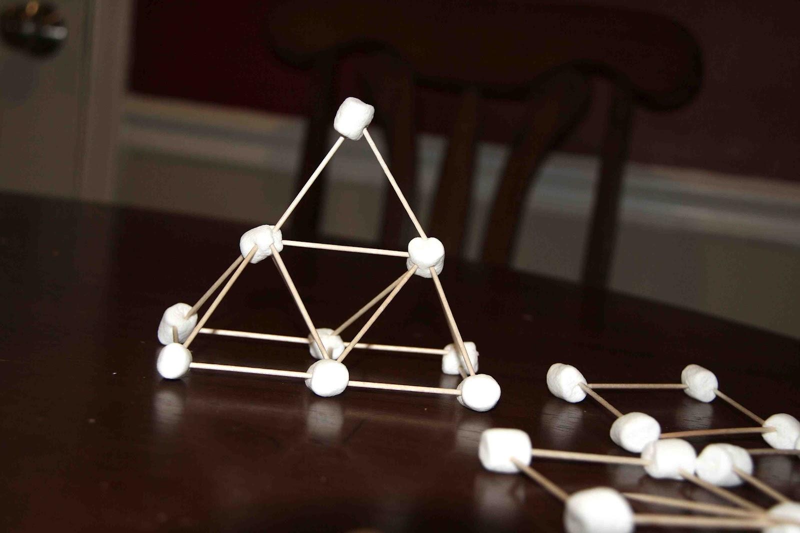 how to make a mini pyramid